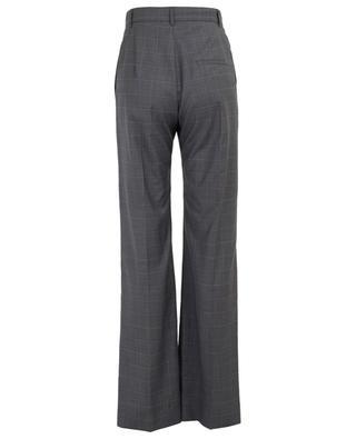 V-Neck checked wide-leg trousers BALENCIAGA