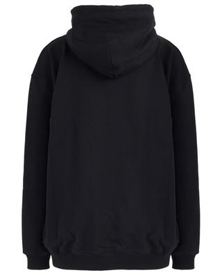 Sweat-shirt à capuche imprimé logo BALENCIAGA