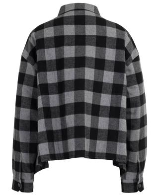 New Swing Canadian padded checked shirt BALENCIAGA