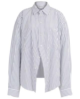Gestreiftes Hemd aus Popeline Swing Masculine BALENCIAGA