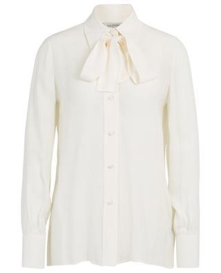 Mini VLOGO jacquard shirt with necktie VALENTINO