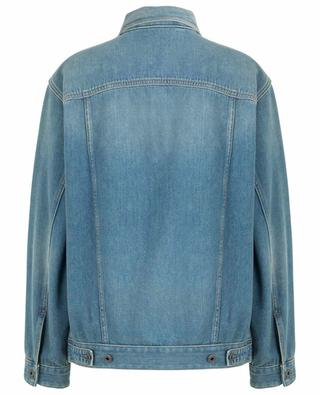 Deconstructed VLogo denim jacket VALENTINO