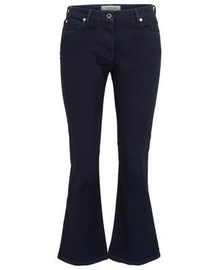 Deconstructed VLOGO dark washed flared jeans VALENTINO