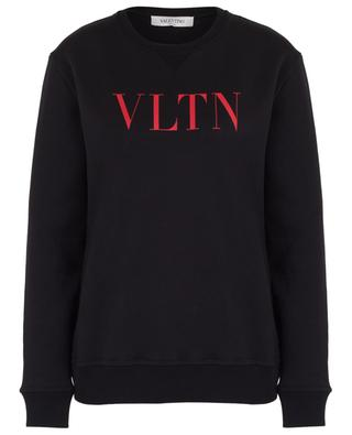 VLTN logo adorned cotton sweatshirt VALENTINO