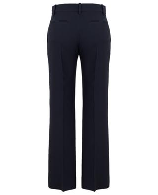 Crêpe Couture straight virgin wool and silk trousers VALENTINO