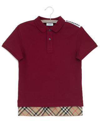 Polohemd aus Baumwollpiqué Hammond BURBERRY