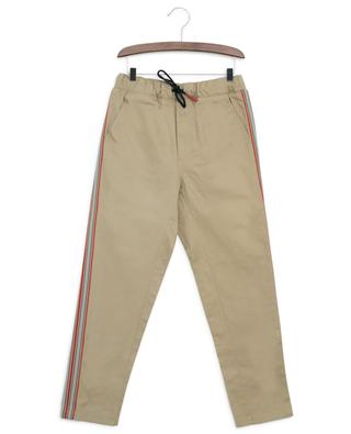 Curran Icon cotton trousers BURBERRY