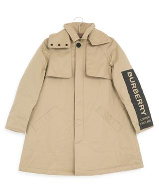 Daxton logo print trench coat BURBERRY