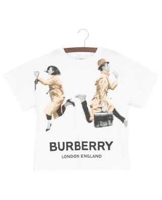 Blurred People printed T-shirt BURBERRY