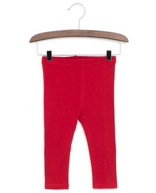 Leggings aus Baumwollstretch Mini Krista BURBERRY