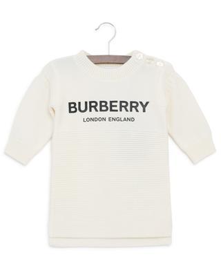 Robe en laine merinos Misty BURBERRY
