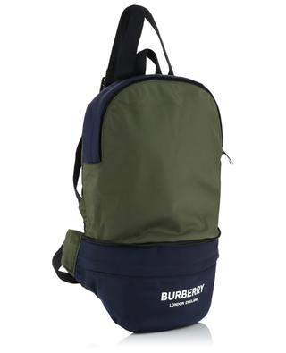 Rex Solid bicolour nylon backpack BURBERRY