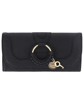 Hanna Long textured leather wallet SEE BY CHLOE
