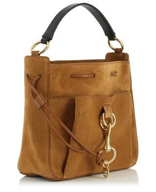 Tasche aus Wildleder und Leder Tony Medium Bucket SEE BY CHLOE