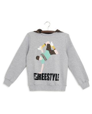 Sweat-shirt à capuche imprimé FFreestyle FENDI