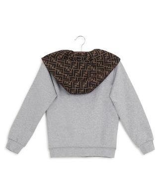 FFreestyle hooded sweatshirt with print FENDI