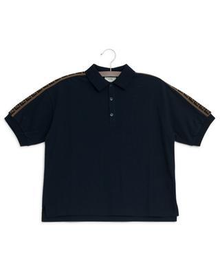 FF band piqué cotton polo shirt FENDI