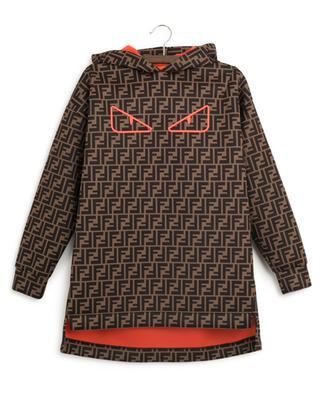 FF Bag Bugs neoprene sweat dress FENDI