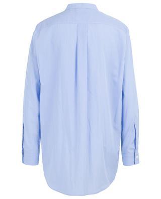 Luke striped cotton shirt with Mandarin collar JOSEPH