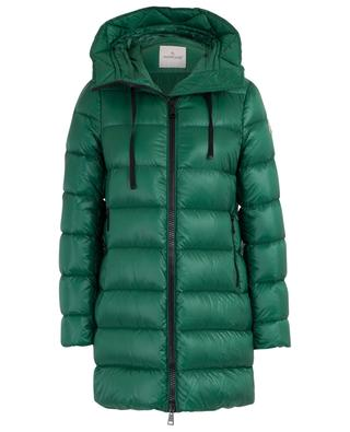 Suyen glossy lightweight down jacket with hood MONCLER