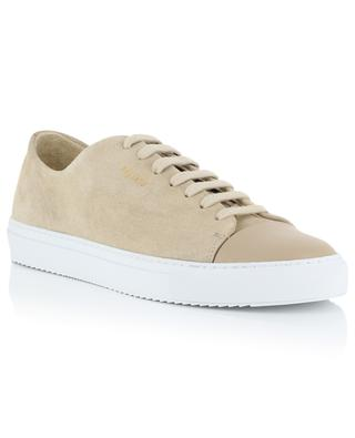 Cap-Toe beige suede and leather sneakers AXEL ARIGATO