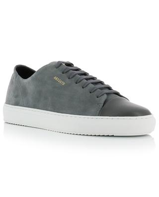 Cap-toe suede and leather sneakers AXEL ARIGATO