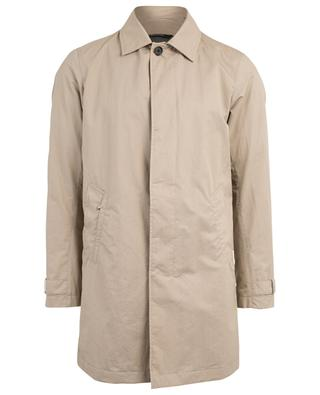 Coated cotton raincoat Z ZEGNA