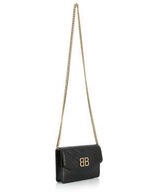 BB Wallet On Chain embossed mini shoulder bag BALENCIAGA