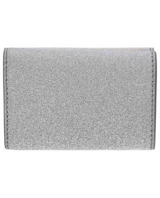 Everyday glitter covered mini wallet BALENCIAGA