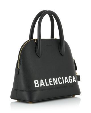 Handtasche aus genarbtem Leder mit Logo Ville S BALENCIAGA