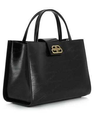 Sharp Tote M logo embossed bag BALENCIAGA