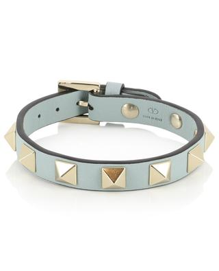 Dünnes Armband aus Kalbsleder Rockstud VALENTINO