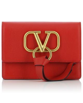 Mini-Tasche aus Leder mit Kettengurt V-RING VALENTINO
