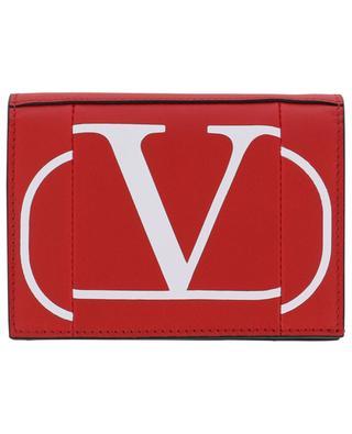 Petit portefeuille en cuir VLOGO VALENTINO