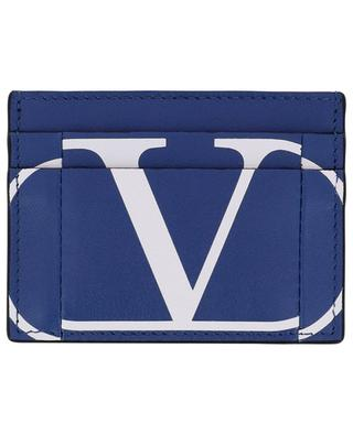 VLOGO Inlay leather card holder VALENTINO
