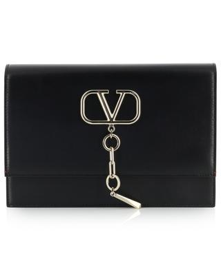 Sac en cuir détail logo VCASE VALENTINO