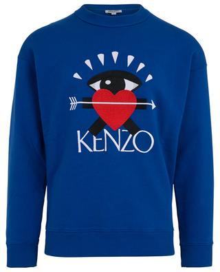 Capsule I Love Kenzo embroidered sweatshirt KENZO ... 1a24c077e4f