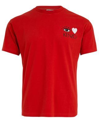 T-shirt imprimé d'un coeur I Love Kenzo KENZO