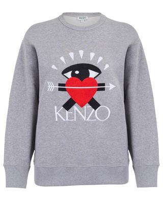 Sweat-shirt ample brodé I Love Kenzo KENZO