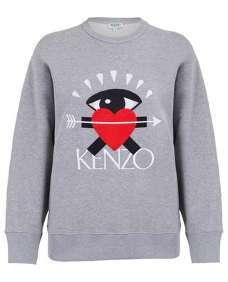 16989b54 I Love Kenzo embroidered loose sweatshirt KENZO ...