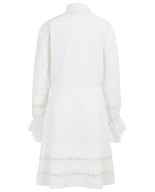 Kleid aus Popeline mit Bändern POLO RALPH LAUREN