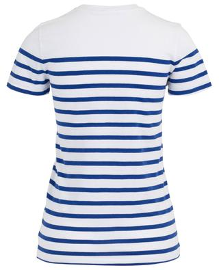 Gestreiftes T-Shirt mit Perlenherz POLO RALPH LAUREN