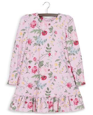 Robe trapèze fleurie en jersey Milano Vintage MONNALISA