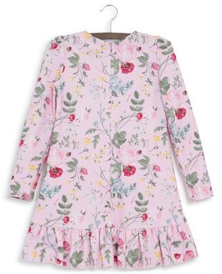 Milano Vintage floral A-line jersey dress MONNALISA