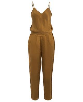 Axl silk strappy jumpsuit MES DEMOISELLES
