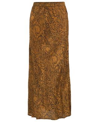 Katuali snake skin print skirt MES DEMOISELLES