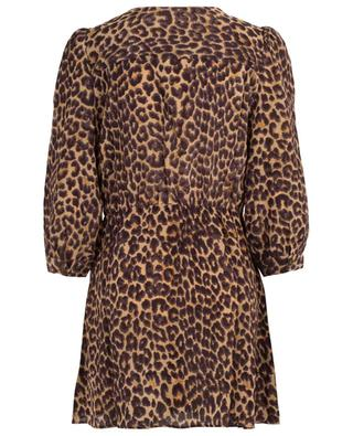 Scott panther print mini dress MES DEMOISELLES