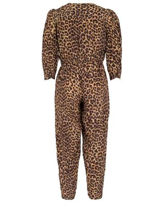 Slash breezy leopard print jumpsuit MES DEMOISELLES