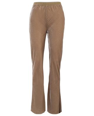 Slither flared velvet trousers MES DEMOISELLES