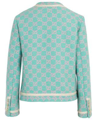 Veste tailleur en tweed logo GG GUCCI